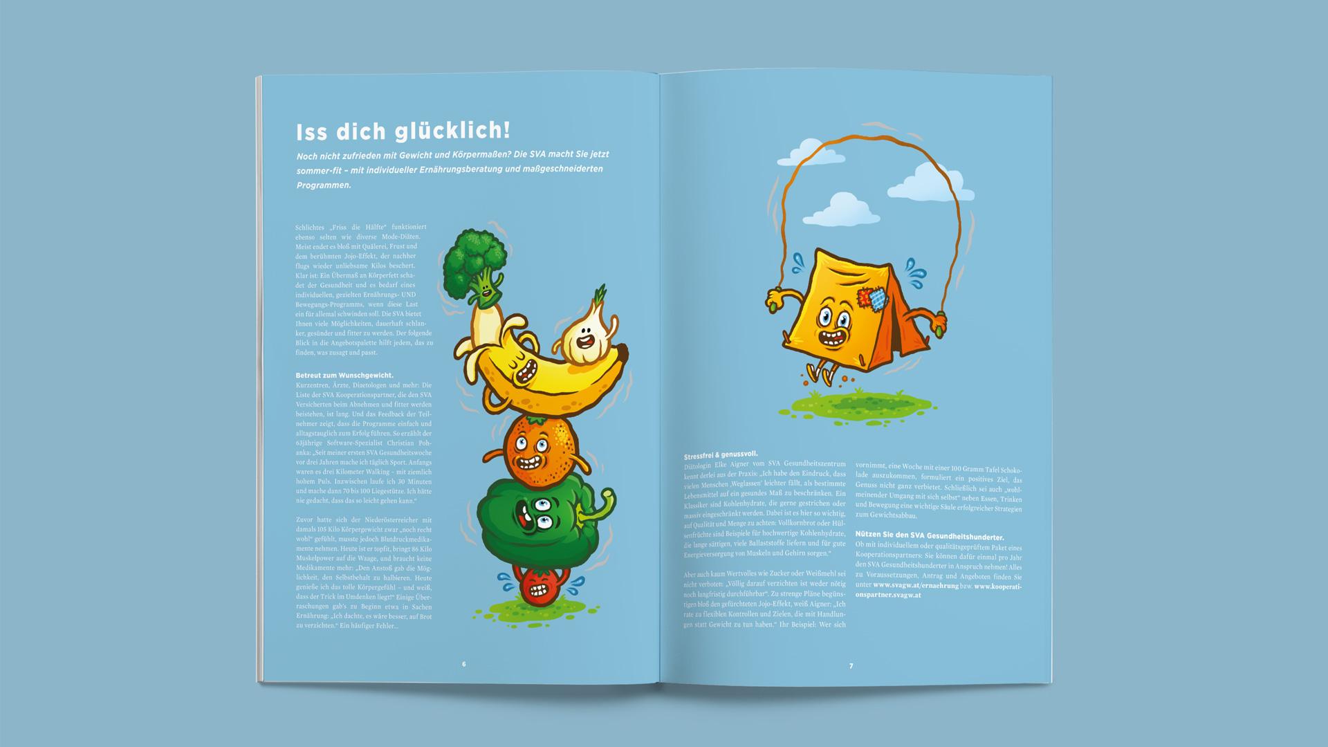 SVA Magazin – Iss dich glücklich