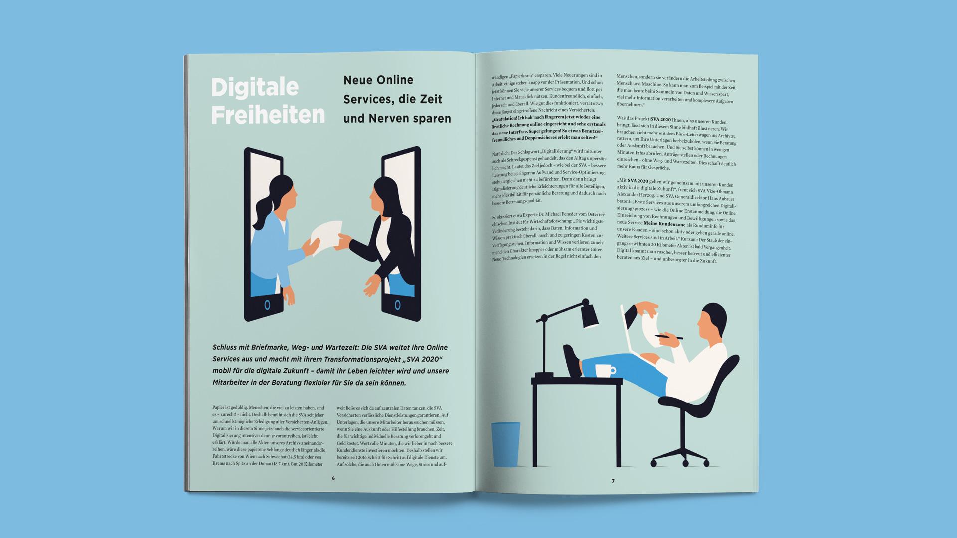 SVA Magazin – Digitale Freiheiten