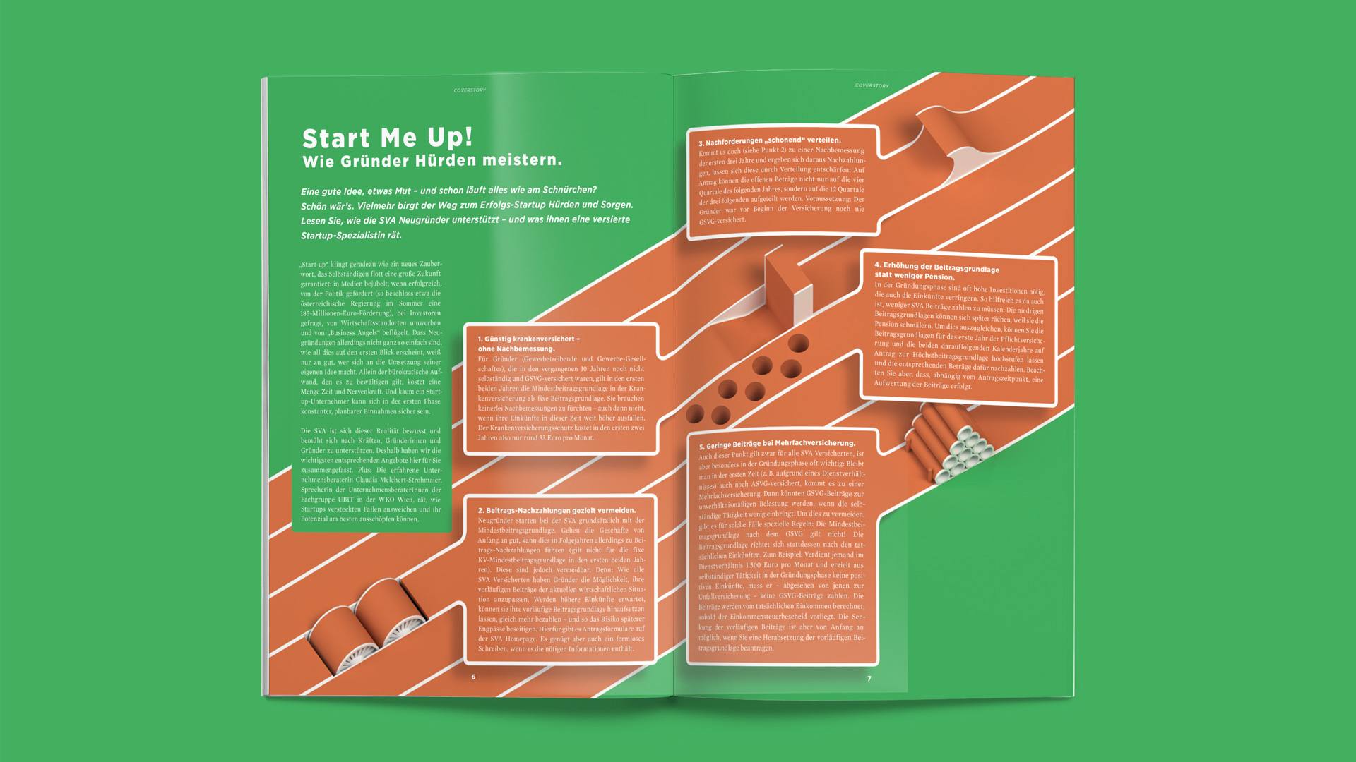 SVA Magazin – Start me up